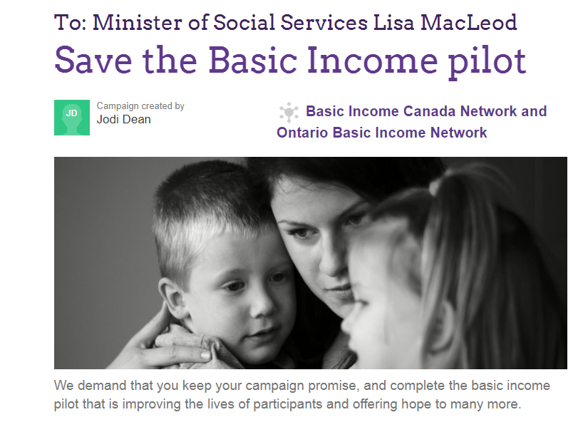 Save Basic Income… We need your help