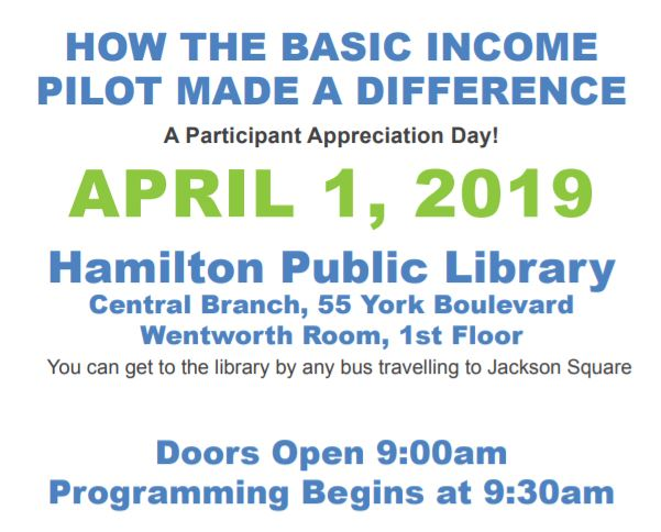 How Basic Income Made a Difference: Event on April 1st